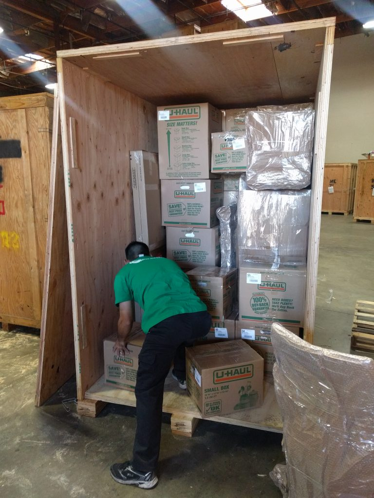Loading Storage Container - Long Distance Moving Experts